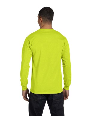 Gildan G840 Gildan Adult 5.5 oz., 50/50 Long-Sleeve T-Shirt